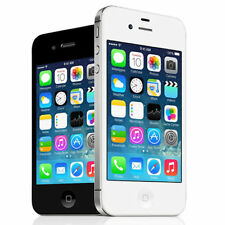 "Apple iPhone 4S 8 GB ""Factory Unlocked"" Black and White Smartphone (Grade A)"