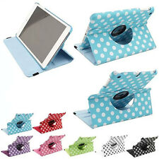 PU Leather 360 Degree Rotating Smart Stand Case Cover For Apple iPad mini 1 2 3