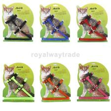 Adjustable Soft Pet Cat Belt Nylon Lead Leash Collar Harness Safety Strap Tool