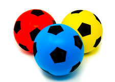 20cm Large E-Deals Foam Sponge Football Ball Soft Indoor Outdoor Soccer Toy