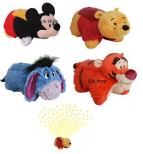 Disney Pillow Pets Dream Lites Winnie The Pooh, Tigger, Eeyore & Mickey Mouse