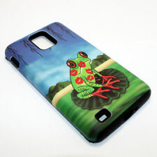Frog Kiss Hybrid ShockProof Phone Cover Case For Samsung Infuse 4G I997