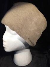 Adult Pillbox Style Polar Fleece Hat **Various Colours and Sizes Available**