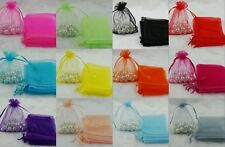 20Pcs Organza Wedding Xmas Party Favor Gift Candy Bags Jewellery pouches 12x9cm