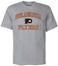 Philadelphia Flyers Majestic  Heart And Soul Mens Shirt Gray Big And Tall Sizes