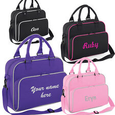 Girls Personalised Shoulder Bag for Dance Ballet Gymnastics Dancing Accessories