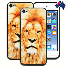 NEW Lion Print Hard Back Case for Apple iPod Touch 5 5th 6 6th Gen itouch Cover