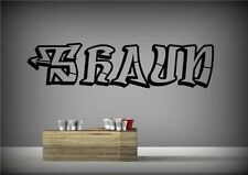 Personalised Graffiti Artist Paint Wall Sticker Decal Mural Transfer Stencil
