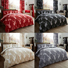 Stag Head Duvet Cover Set With  Pillow Cases Bedding Quilt Cover Set All Sizes