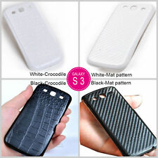 New Carbon Fiber Battery Back Cover Housing For Samsung Galaxy S 3