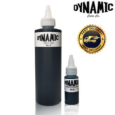 29.6ml/236.6ml DYNAMIC BLACK Tattoo Ink Original bottle for lining and shading