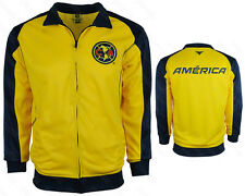 Club America Track Jacket 2015-2016 Soccer Club de Fútbol América Mexico Yellow