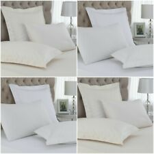 LUXURY 2  CONTINENTAL PILLOW CASES 400 THREAD COUNT