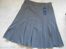 M&S Collection Nutmeg Paneled Lined Office Formal Flared Skirt (NEW) UK sizes 18