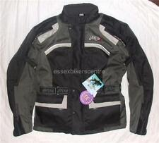 LAYER8 BRAND NEW WATERPROOF WINTER TEXTILE MOTORCYCLE JACKET +FREE OVER TROUSERS