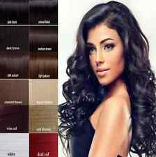 "Full Head Clip in 100% Remy Human Hair Extensions15 - 26"" 7p/ 8pcs Straight Lot"