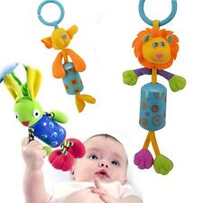 Baby Infant Rattles Plush Animal Stroller Hanging Bell Toy Doll Soft Bed Cute b