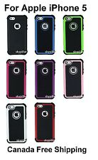 "4"" Display Apple iPhone 5 5G 5S 5GS Hybrid ShockProof Hard Case Cover"