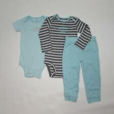 NWT CARTER'S 3 Pc Baby Boy Bodysuits, Pants Outfit Sizes 12,18 and 24 Mo