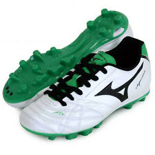Mizuno JAPAN Super Sonic Wave 3 Jr MD Youth soccer football shoes 12KP338 White