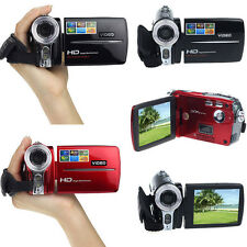 HD 720P 20MP 3.0'' TFT LCD 16X ZOOM Digital Video Camcorders Camera DV Black Red