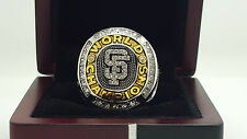 2010 San Francisco Giants MLB  world series championship ring 8-14S gold copper