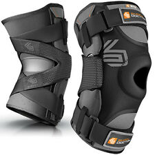 Shock Doctor 875 Ultra Knee Support Bilateral Hinges Brace Sleeve MCL ACL Injury