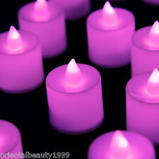 2 Dozen Flameless Flicker LED Tea Light Battery Operated Wedding Decorate Candle