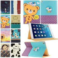Slim Leather Flip Cover Smart Wake Sleep Stand Case For iPad Air 1/2 1st 2nd Gen