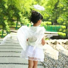 Fancy Party Feather Angel Fairy Wings Halo Dress Wand Clothes Costume Outfits