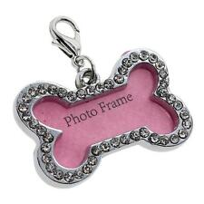 Cute Stainless Steel Metal Bone Star Shaped Pet Dog Cat ID Phone Number Name Tag