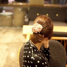 Trendy Women Lady Peony Flower Hair Clip Hairpin Brooch