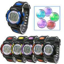 Kids Girl Boy Watch LED Light Sport Wrist Watch Alarm Date Digital Multifunction