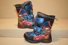 INFANT/TODDLER BOYS DISNEY/PIXAR CARS 2 SNOW BOOTS - SEE LISTING FOR SIZE (1118)