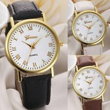 Geneva Womens Watches Unisex Mens Leisure Dial Bling Analog Quartz Wrist Watch