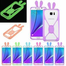 New Glow Luminous Frame Cover Silicone Bumper Case Luminescent Universal Phones
