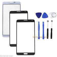 Replacement Front Outer Screen Glass Lens Kit for Samsung Galaxy Note 3 N9000