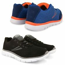 NEW MENS RUNNING TRAINERS CASUAL LACE UP GYM WALKING BOYS SPORTS SHOES SIZE