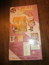 1995 Dura Craft Linfield LN190 Miniature Wood Dollhouse Kit