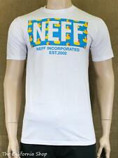 Neff New World Ducky Graphic Tee Mens White Short Sleeve Crew T-Shirt New NWT