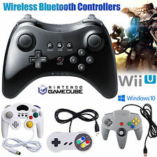 Wireless Pro SNES Gamecube GC 64 Controller Joypad Remote For Nintendo Wii U UK