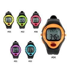 Cute Pulse Watch Heart Rate Monitor Calorie Counter Sports Watch Practical NU32