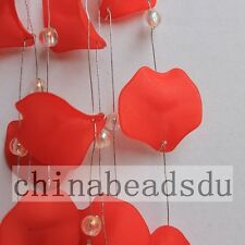 4' /1.2M L Bead Garland Wire Acrylic Beads/ Petal Branch Home Wedding Decor