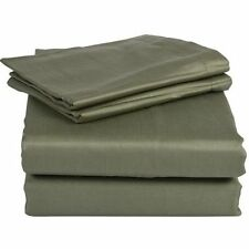 NEW OLIVE GREEN 800TC EGYPTIAN COTTON COMPLETE BEDDING  SHEET SET,DUVET COVER