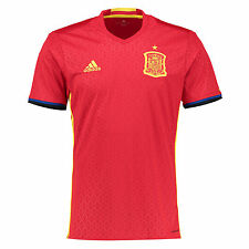 RSPA19: Spain shirt new official HOME Adidas jersey EURO 2016 tee ESPANA top