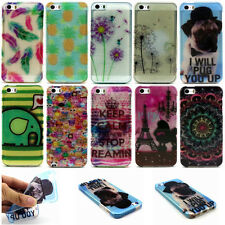 Ultra Thin Colorful Painted Soft TPU Silicone Back Case Cover For Mobile Phone