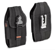 REIKO Vertical Heavy Duty Rugged Belt Clip Loops Case Pouch for Apple Cell Phone