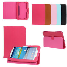 "7 inch Universal Leather Stand Case Cover For 7"" Android Tablet PC Back Skin New"
