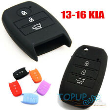 FIT FOR 13-16 KIA OPTIMA SPORTAGE SILICONE KEY COVER FOB SOUL RIO FORTE CARENS