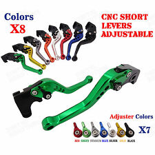CNC Adjustable Short Brake Clutch Levers for Ducati 1099 Streetfighter/S 09-13